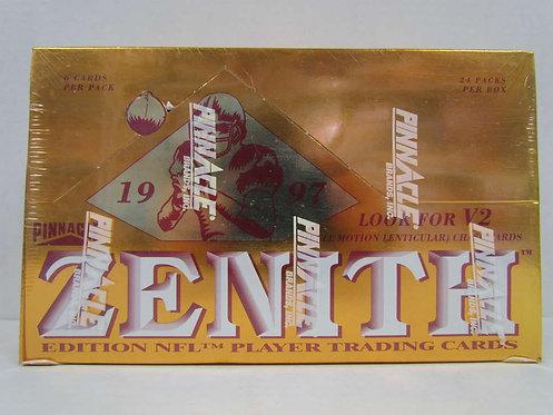 1997 Zenith Football Box