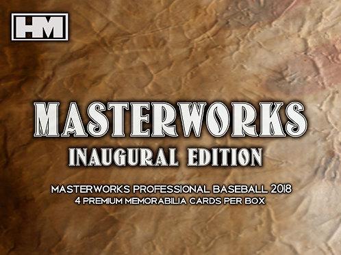 Masterworks 2018 3 box case
