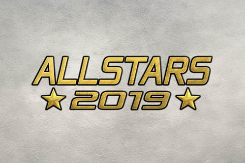 Allstars 2019 3 hobby box case