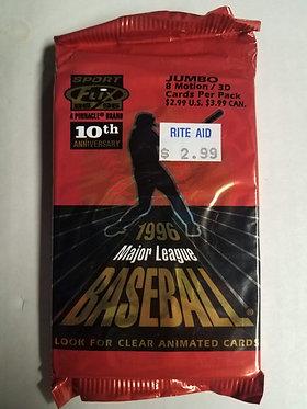 1996 Pinnacle Sportflix Baseball JUMBO Pack