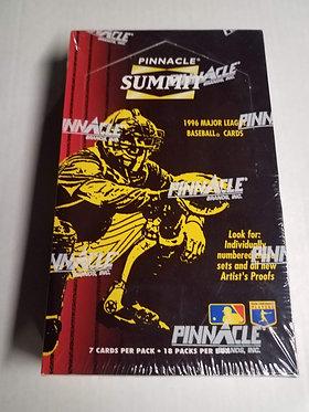 1996 Pinnacle Summit Baseball Box