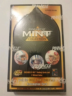 1996 Pinnacle Mint Football Box