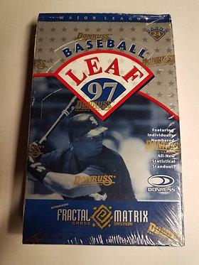1997 Leaf Series 1 Baseball Box