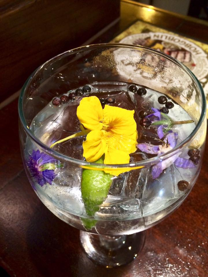 A garden in a glass.