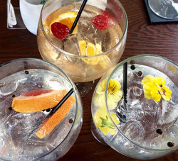 A mix of summery gins.