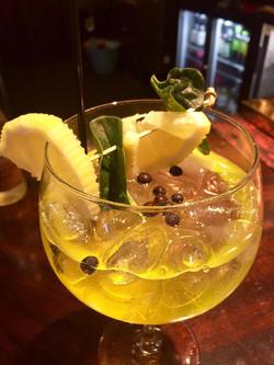 A fresh lemon gin.