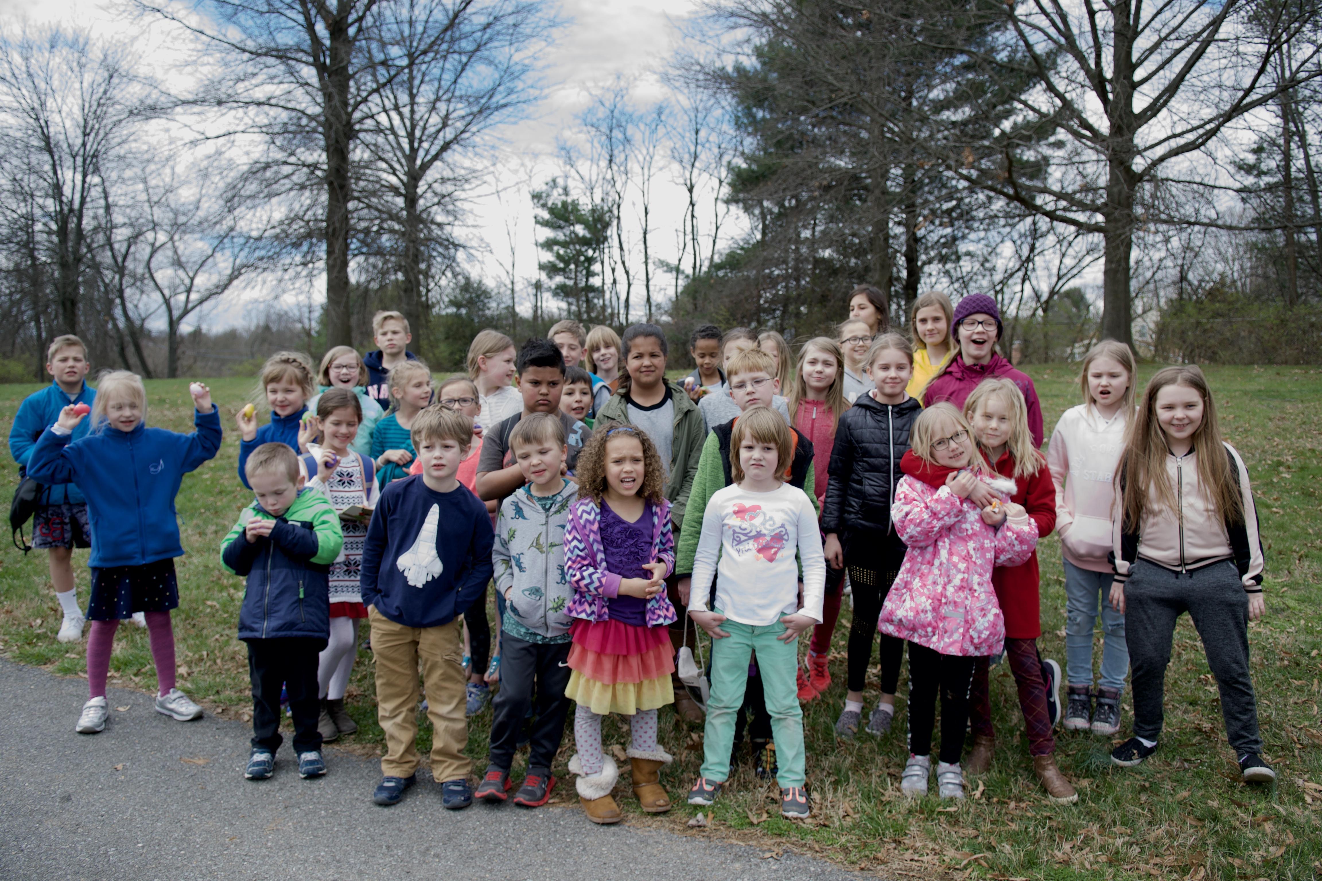 Külas käis lastekoor Mariel