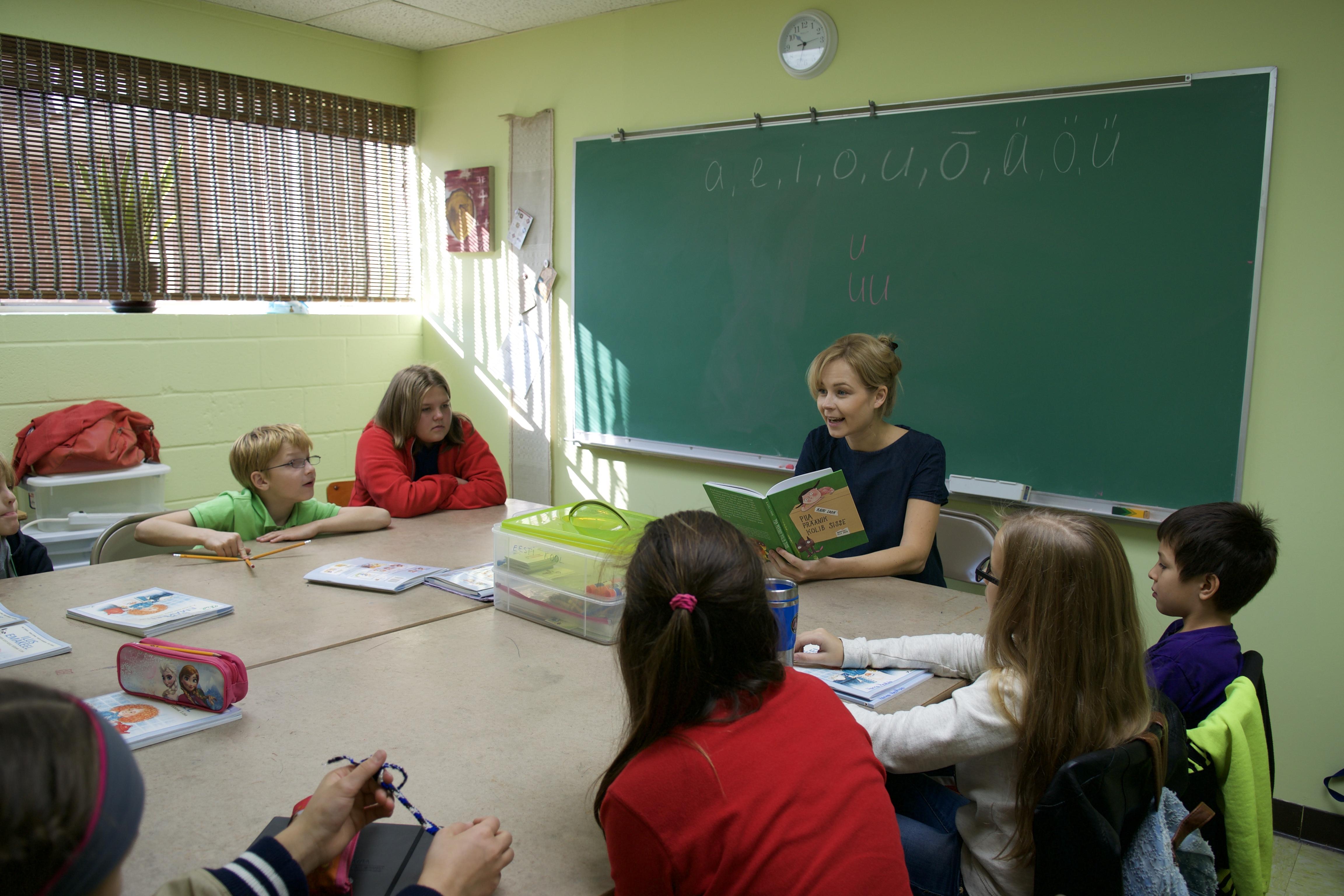 Külas käis lastekirjanik Kairi Look