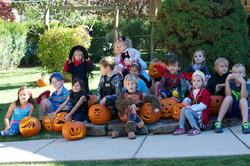 Laste sügispidu / Halloween party