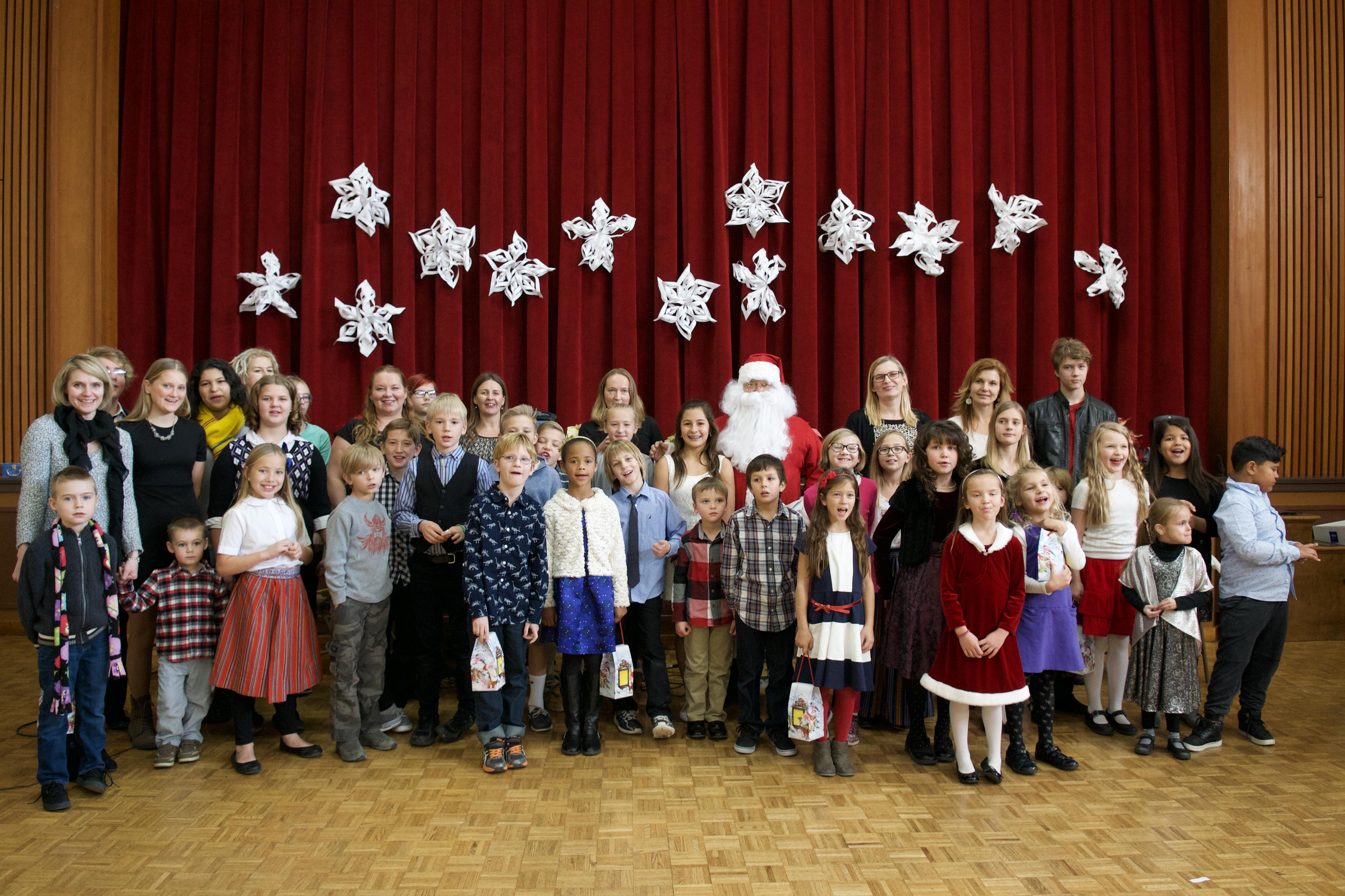 Laste jõulupidu 10.detsembril 2016