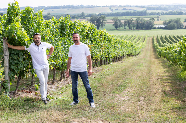 Rémy et Éric Estrade