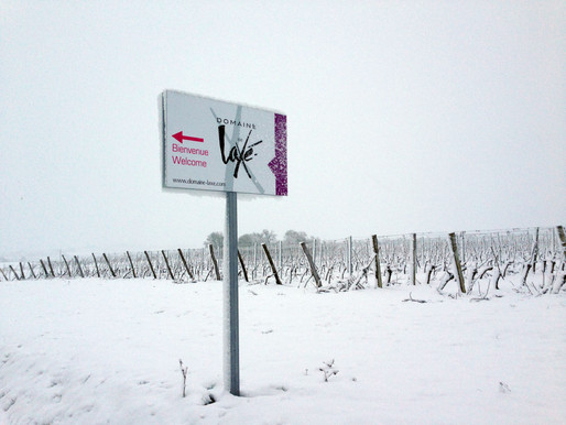 Laxé under the snow