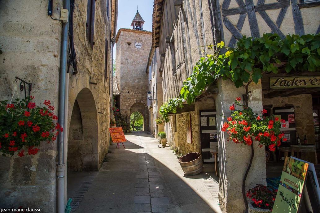 La ville de Fourcès
