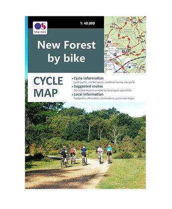New Forest by Bike - Cycle Map | 1: 40,000