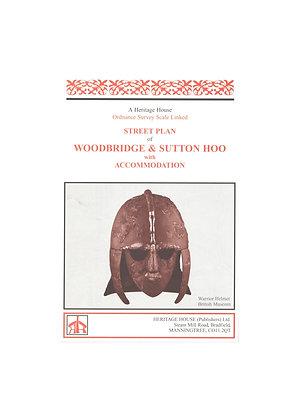 Woodbridge & Sutton Hoo | Street map with index