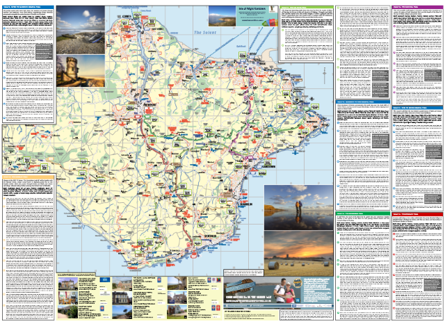 Isleof Wight Walker's Map_East