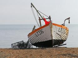 Fishing Boat, Aldeburgh_Amanda Slater