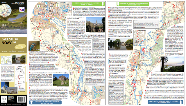 AVon Valley Path map_north sheet