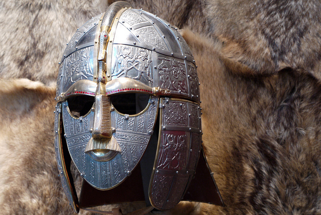 Anglo Saxon Helmet, Sutton Hoo_Chris Eccles