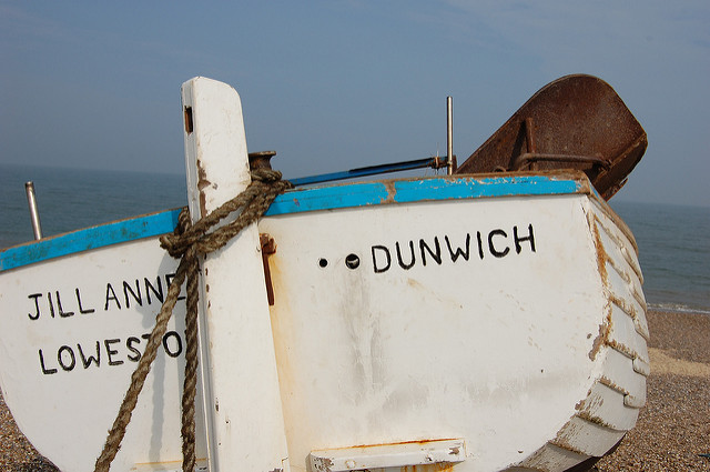 Boat at Dunwich_Dave Briggs