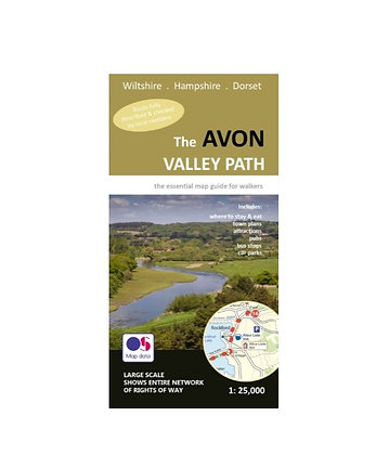 The Avon Valley Path | Walking Map | 1: 25,000