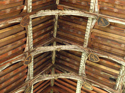 Chancel Roof, St Mary, Ufford_Amanda Slater