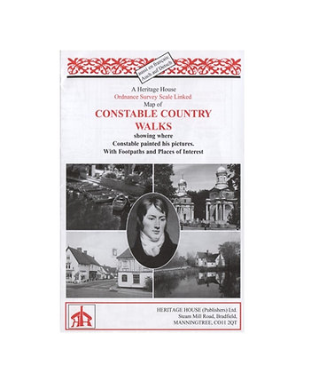 Constable Country Walks | Walking Map | 1: 23,500
