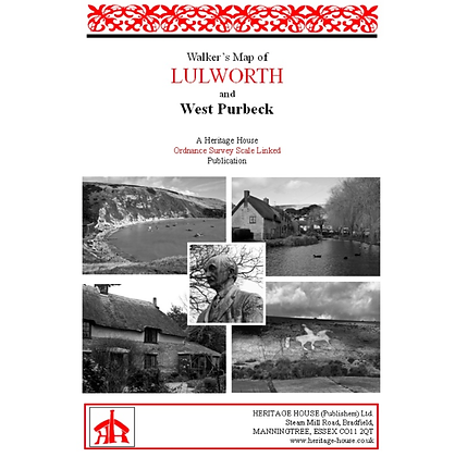 Lulworth & West Purbeck | Walking Map | 1: 38,000
