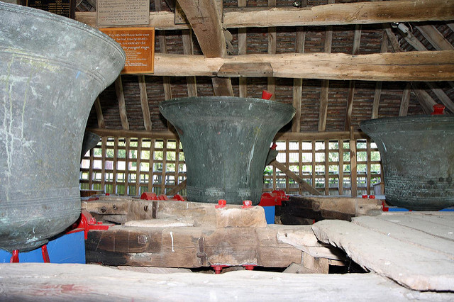 Bell Cage, East Bergholt Church_David