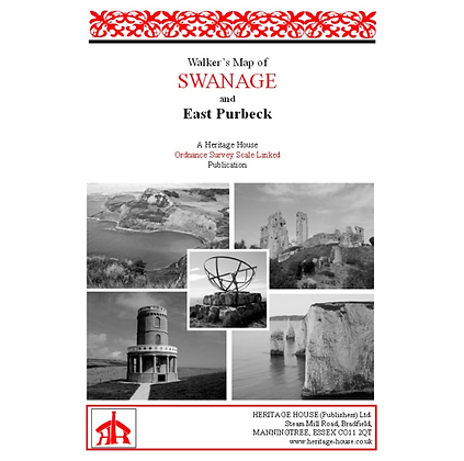 Swanage & East Purbeck | Walking Map | 1: 38,000