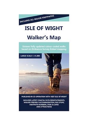 Isle of Wight Walker's Map | 1: 41,000