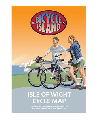 Bicycle Island - Isle of Wight Cycle Map | 1: 46,500