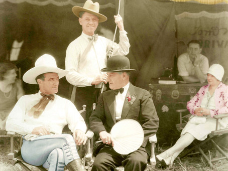 "Prescott's Love Affair With Tom Mix ""The King of Cowboys"""