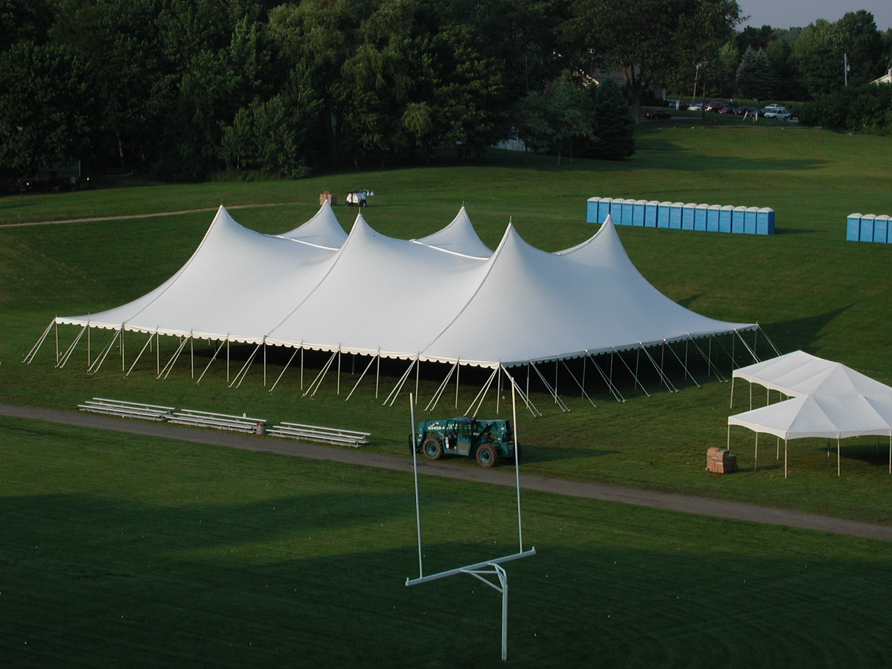100'x120' Pole Tent