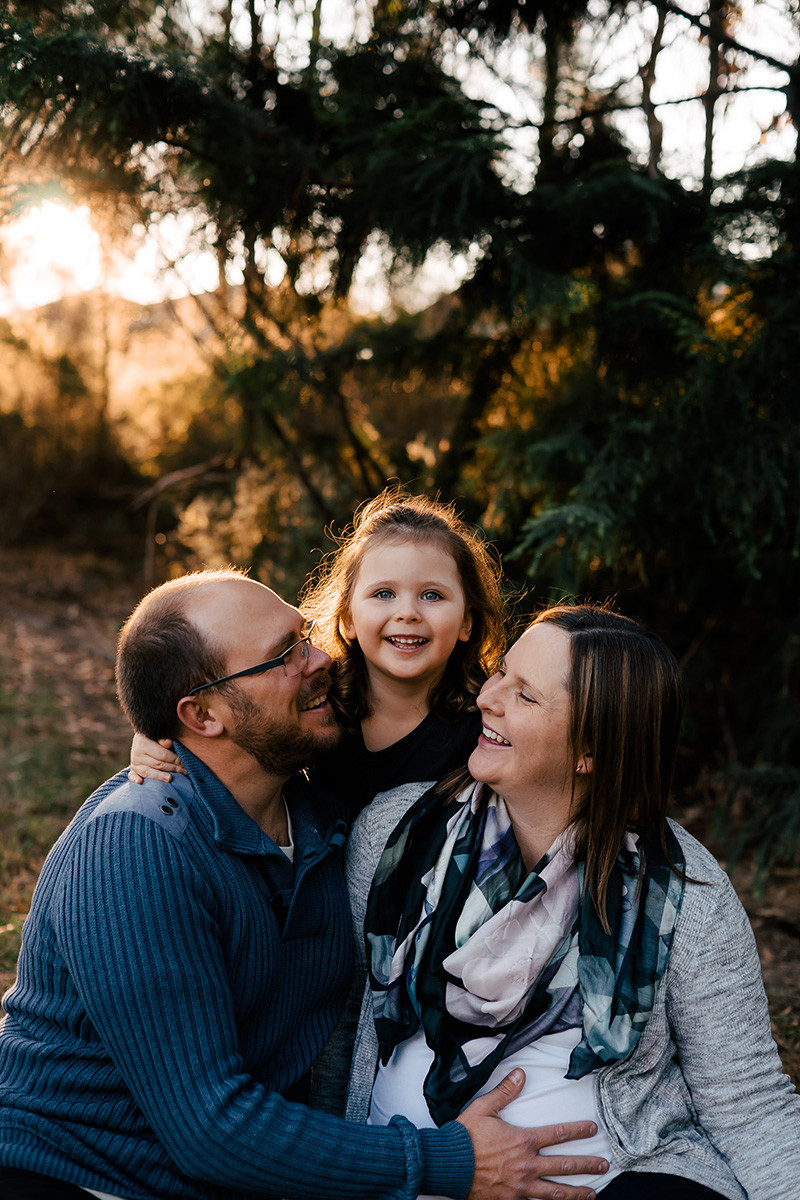 Maternity Shoot with family