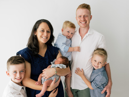 South Brisbane Newborn Photographer - The Newborn Session of Ananiah