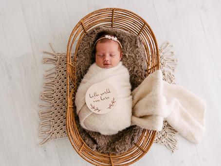 Maternity and Newborn Photography Brisbane - Baby Sadie