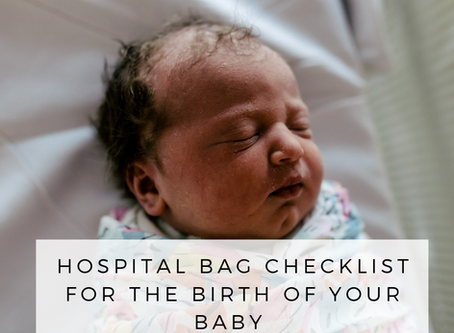 Hospital Bag Check List - Newborn Photography Brisbane