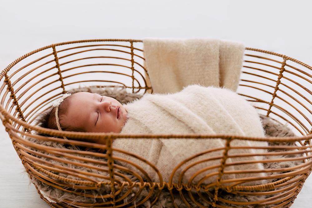 Boho inspired baby photoshoot