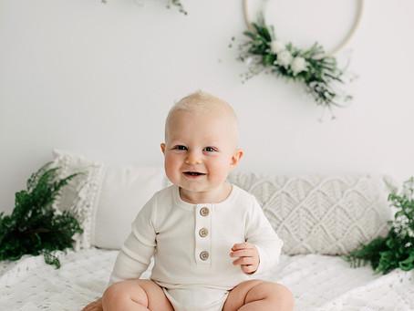 Baby Photographer Brisbane - Lucas' Baby Portraits