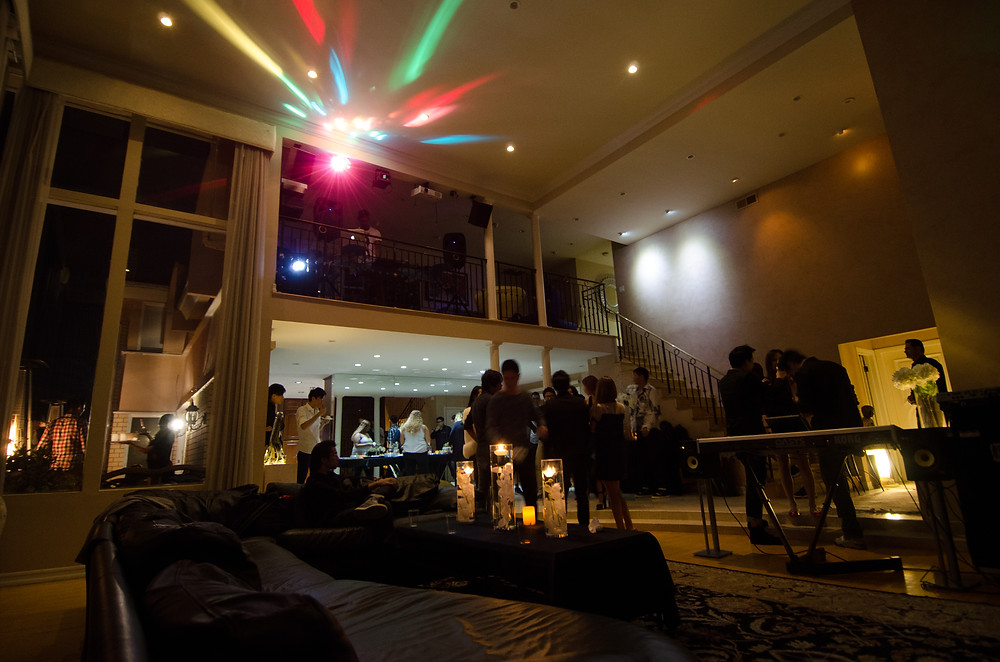 Dolce Vita Events Hollywood Hills Birthday Party