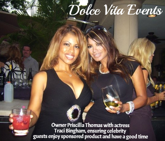 Traci Bingham and Priscilla Nakane