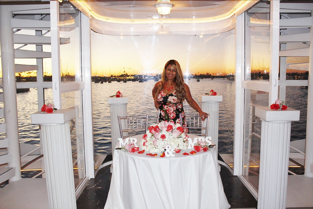 Orange County Yacht Wedding Electra Cruise wedding planner by Dolce Vita Events