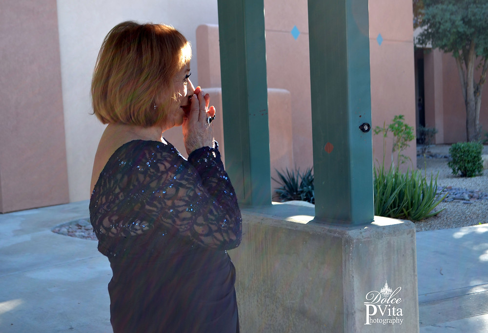Dolce Vita Events Photography - Mother of the bride's first look with Bride