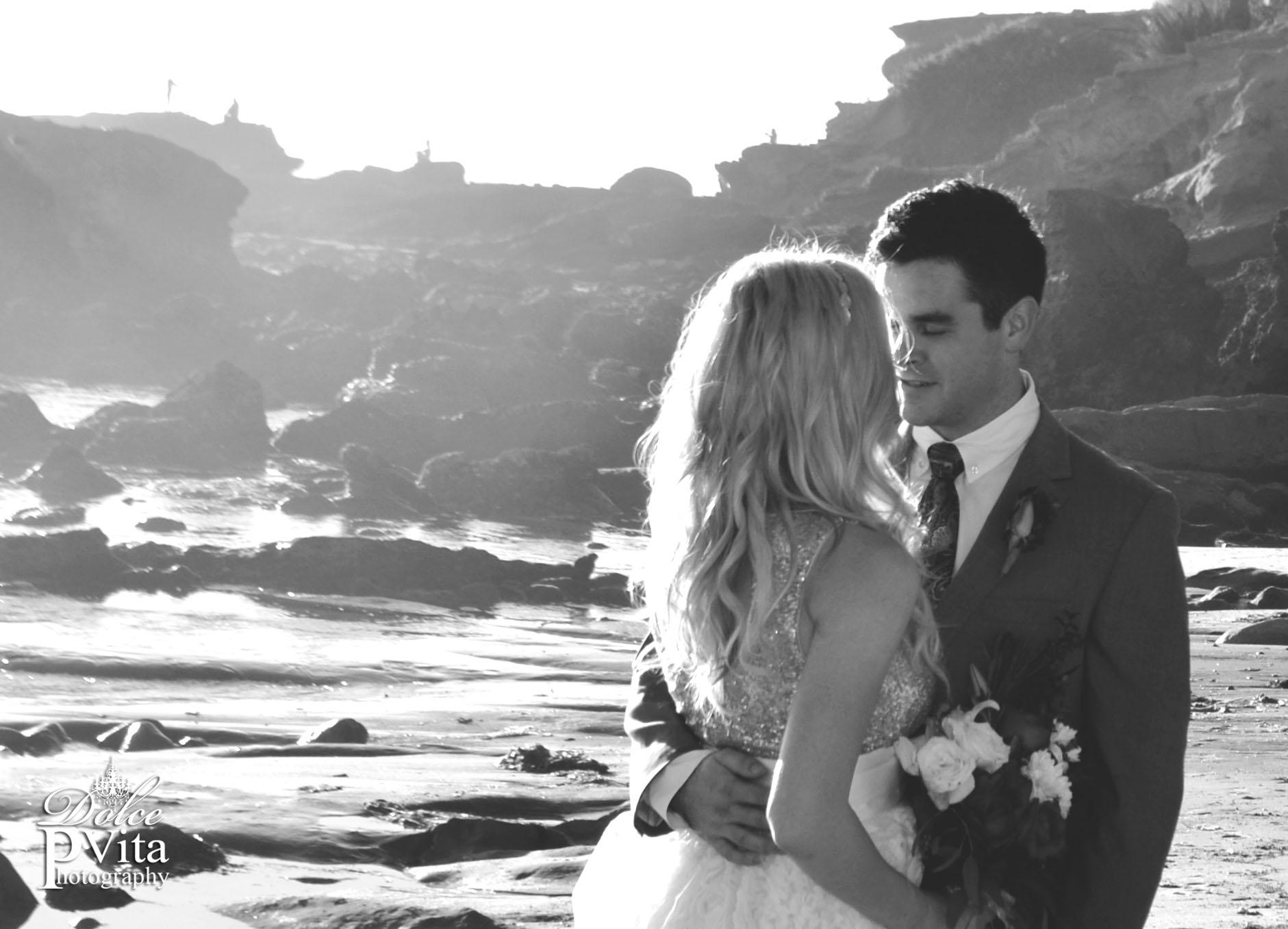 Rockpile Beach Wedding
