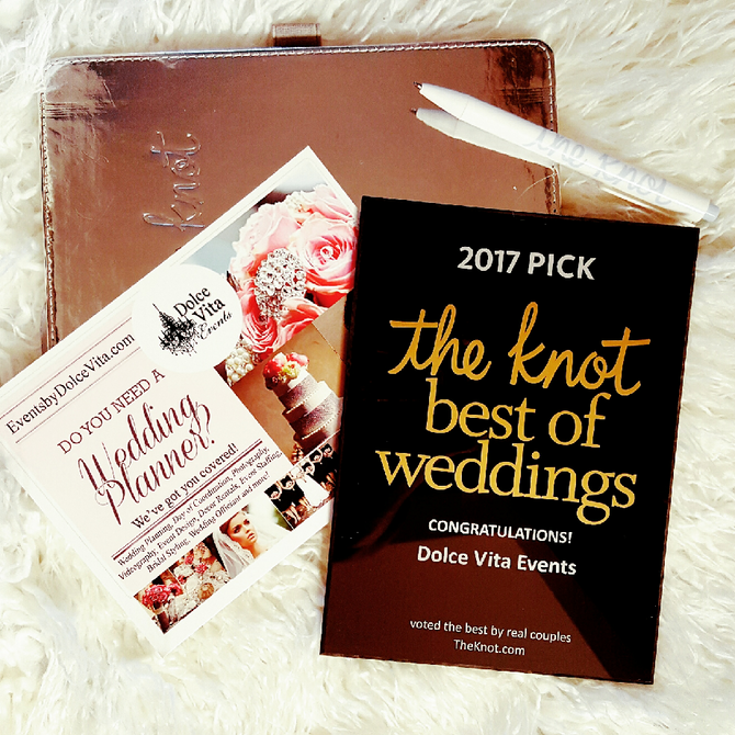 Dolce Vita Events Voted Best Southern California Wedding Planner for 2017 in Orange County,  Los Ang