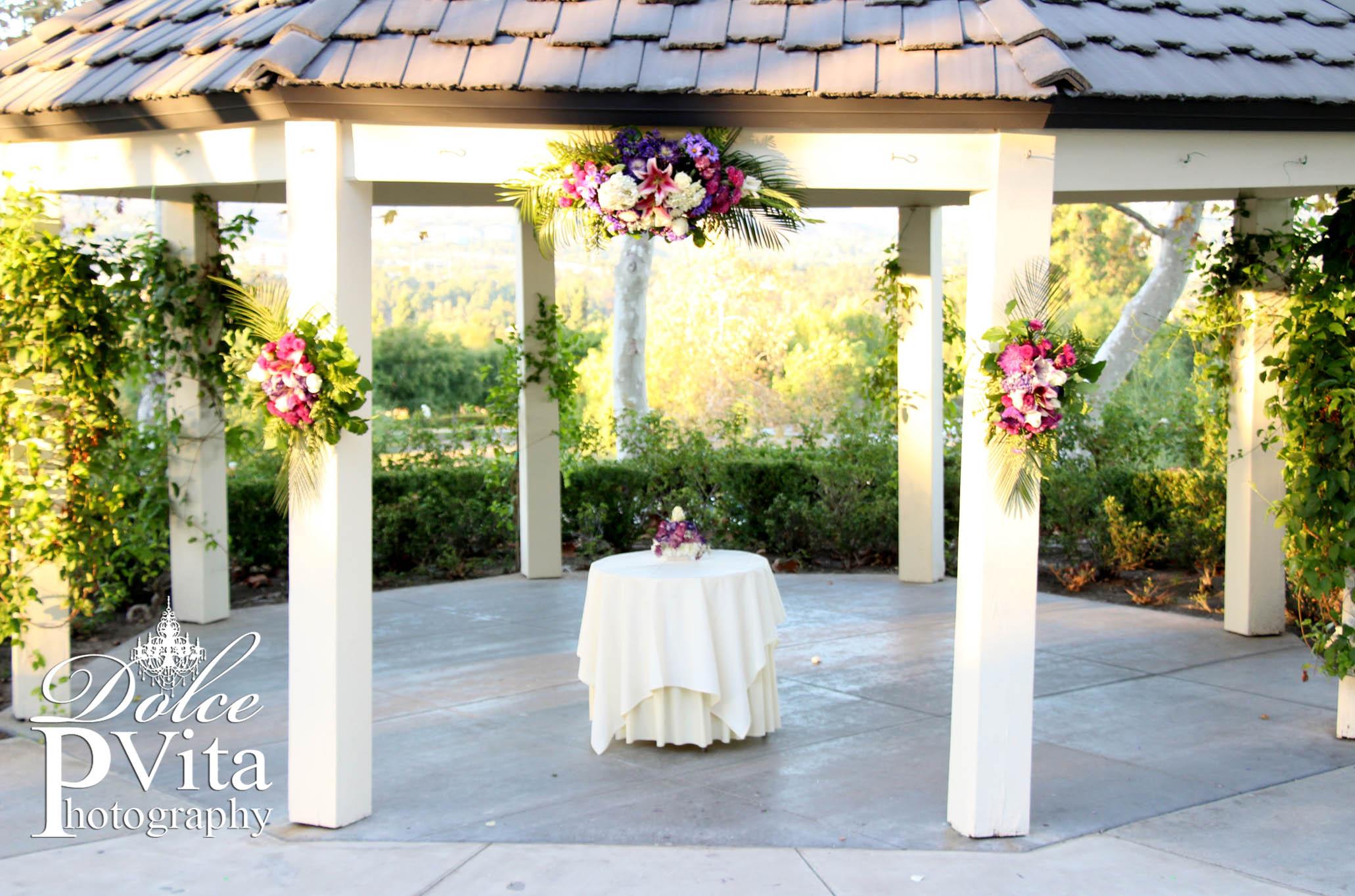 Gazebo Wedding Flowers