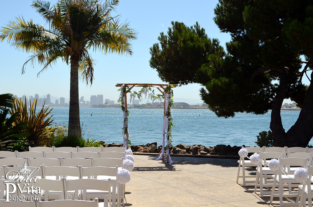 San Diego Bay Wedding by Dolce Vita Events