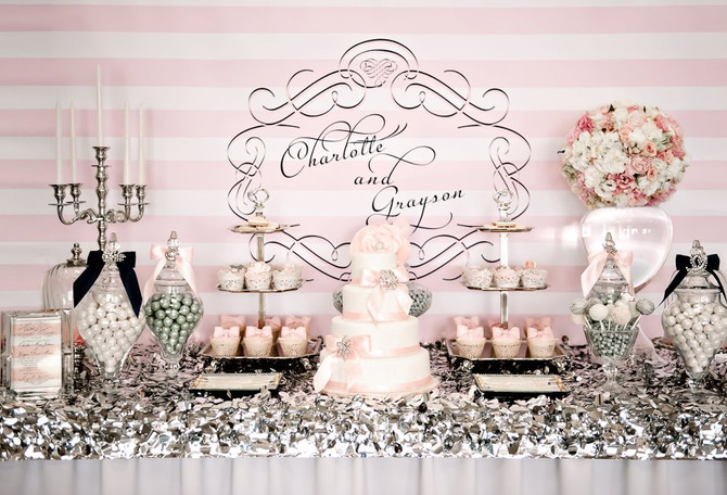 How to Save Money on your Wedding Cake with a Candy or Dessert Buffet