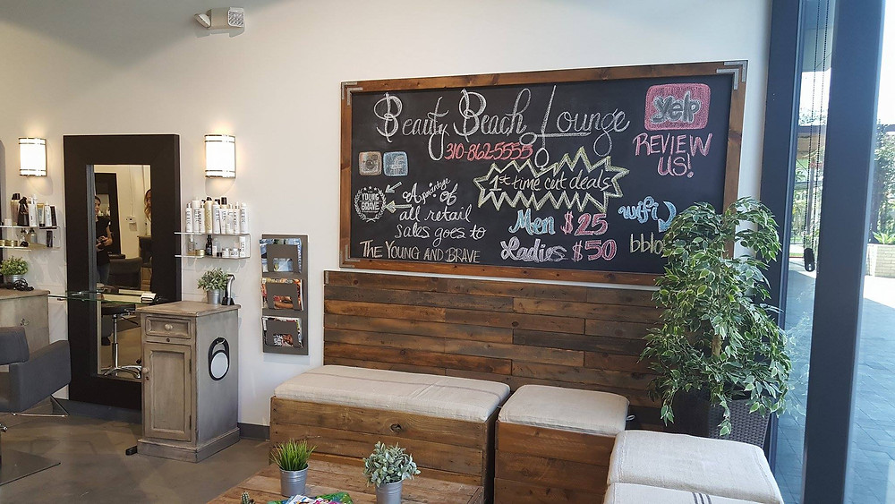 Beauty Beach Lounge Hair Salon Playa Vista, Los Angeles, CA by Savvy Girl PR